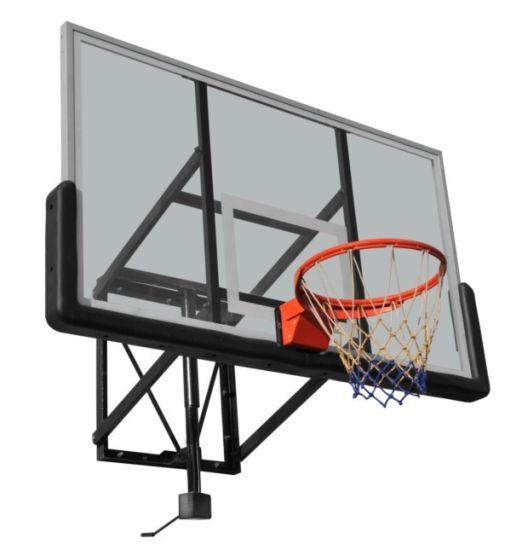 China Tempered Glass Basketball Backboard Wall Mounting Backboad ...