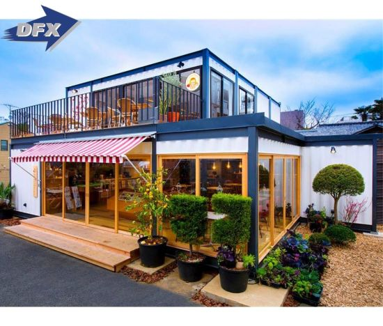 China Prefabaricated Movable Fashion Home Design Low Cost Container House China Prefabaricated House Shipping Container House