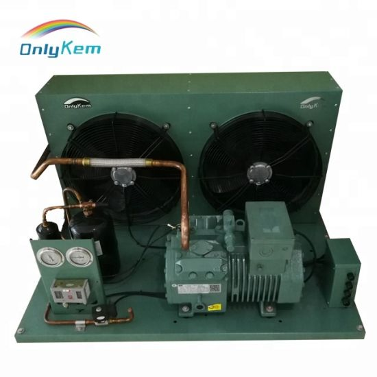 Air Cooled Condensing Units Refrigeration Parts for Cold Room