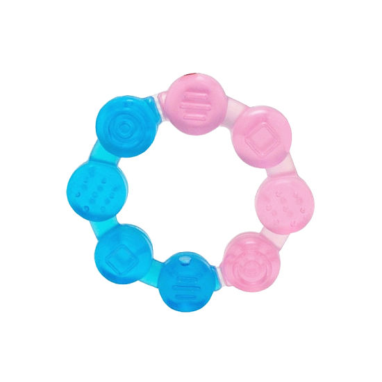 Amazing Bulk Circle Shape Baby Teether Toy for Baby Soothing pictures & photos