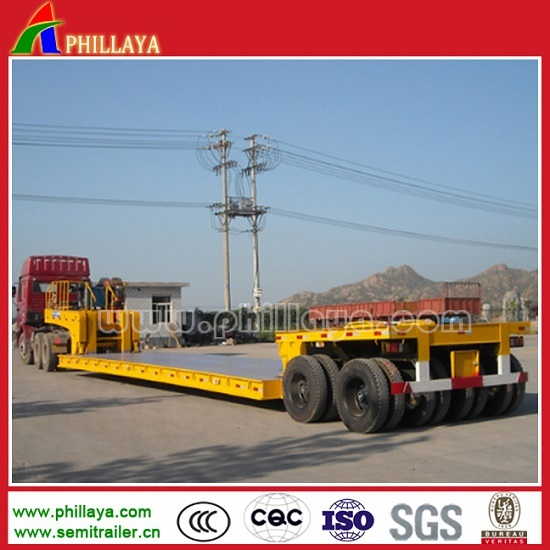100-150 Tons Multi Axles Heavy Duty Lowbed Trailer pictures & photos