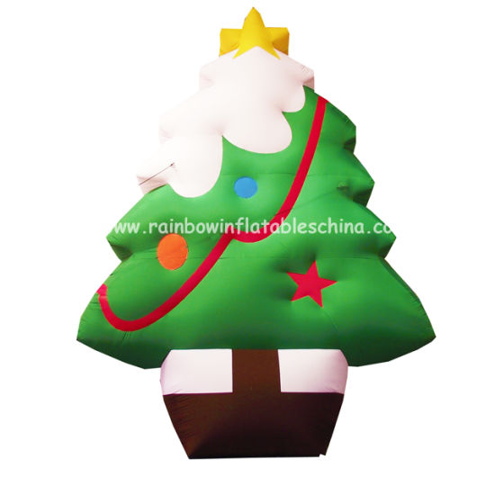 Hot Sale Inflatable Christmas Tree Decoration Rb20004