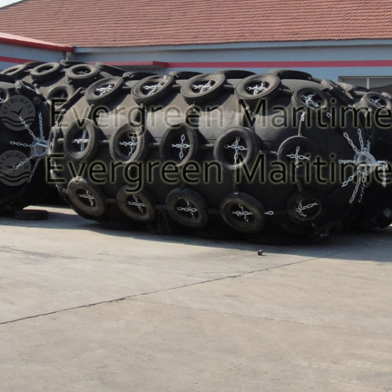 Best Sale ISO 17357: 2014 Approved Yokohama Type Ship Floating Pneumatic Rubber Marine Fender pictures & photos