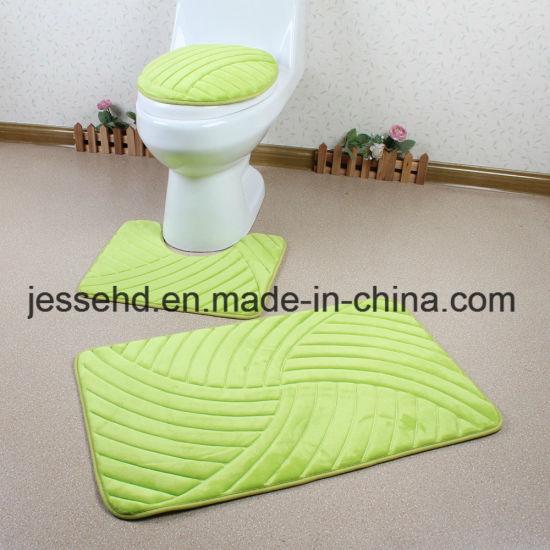 China Creative Colorful Bath Mat 48PCS Bathroom Rug Set China Bath Custom Bathroom Baths Creative
