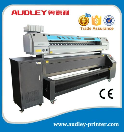Adl-D1018 Flag Textile Printing Machine, 1850mm, with 2 Dx7