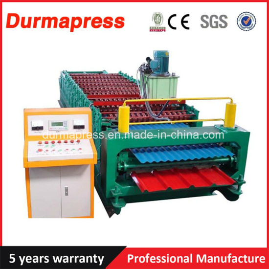 China 310 Roof Ridge Cap Roll Forming Machine for Sale