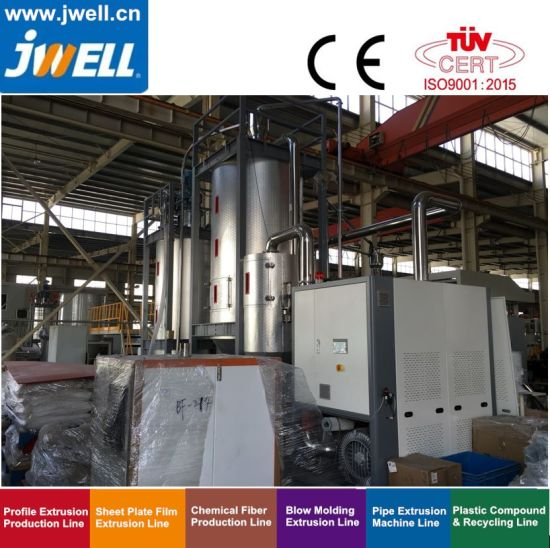 Jwell Pet/APET/PETG/Cpet Sheet for Package Single Screw Extruder