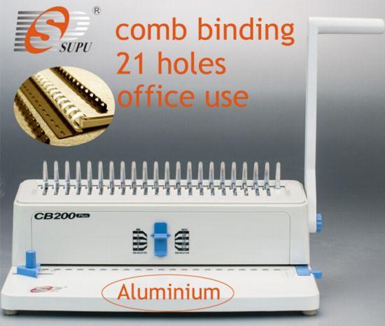 China Office Type Manual Comb Binding Machines (CB200 PLUS) - China