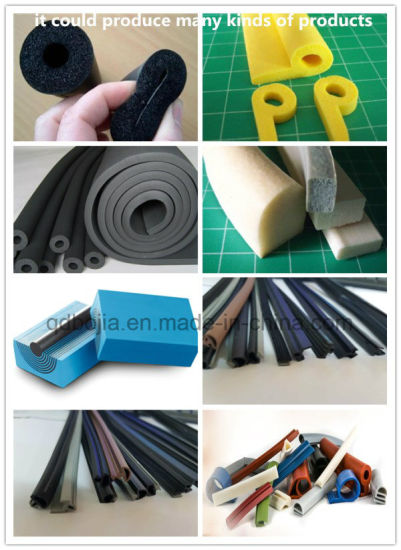 Silicone Rubber Extruder with Ce and ISO9001 pictures & photos