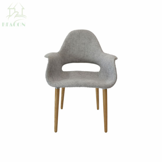 Home Furniture Patchwork Fabric Eero Style Organic Conference Chair