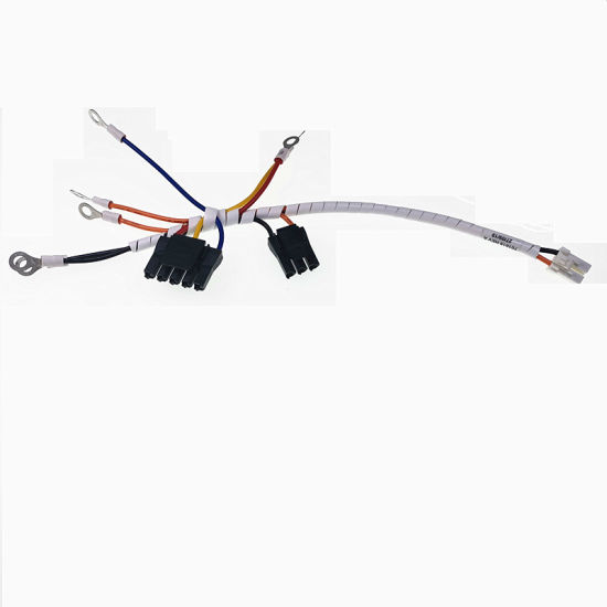 1.25mm 2.54mm Pitch Molex to Tyco Connector Spiral Tube Wire Harness pictures & photos