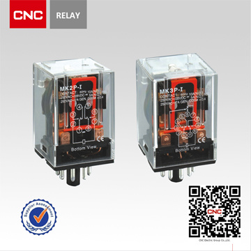 CNC China Market of Electronic Mk Relay General Relay Power Relay 12V Mini Industrial Relay Contactor (MK)