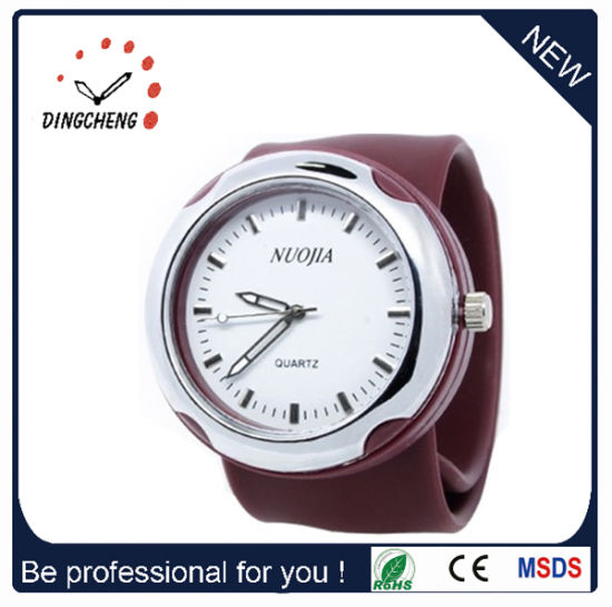 2015 Brown Fashion, High Quality Slap Watch (DC-915) pictures & photos