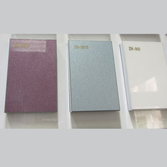 China 18mm Eco-Friendly Glossy UV Board for Kitchen Cabinet (ZH-960