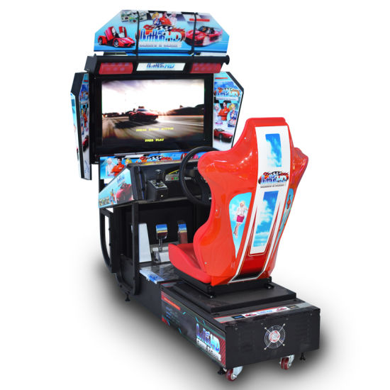 China Racing Car Game Machine Car Racing Simulator Arcade Game