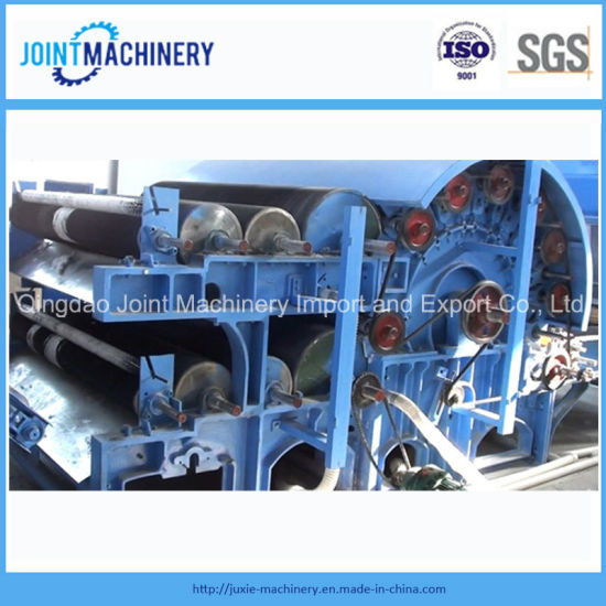 Single Cylinder Double Doffers Nonwoven Carding Machine pictures & photos