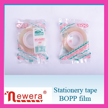 BOPP Film Water Based Glue Stationery Tape for Gift Packing pictures & photos