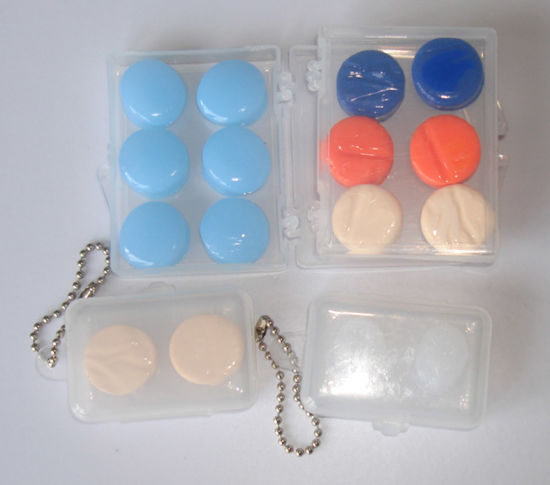 Soft Silicon Ear Plugs for Showering (ES3112) pictures & photos
