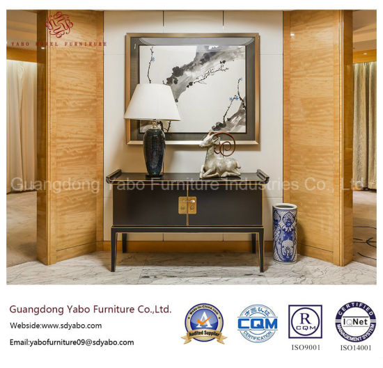 Antique Hotel Furniture with Chinese Bedroom Set (YB-TJ) - China ...