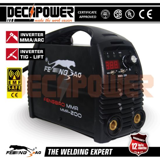 China 140A IGBT Inverter Welder 60 Duty Cycle Portable MMA Welding