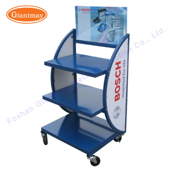 Wholesale Automotive Car Battery Storage Display Rack With Wheels Magnificent Car Battery Display Stands