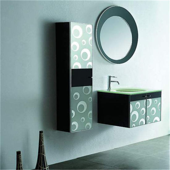 Water Proof Acrylic Bathroom Vanity With Mirror And All Necessary  Accessories