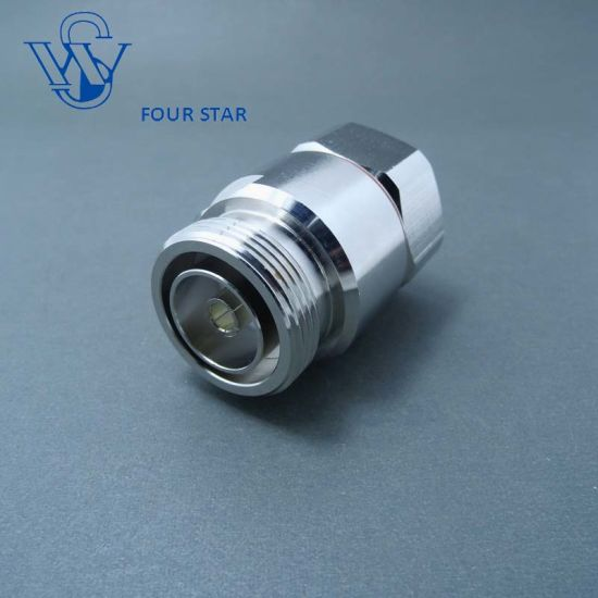 """7//16 DIN Male Plug Female Jck center clamp for 7//8/"""" cable RF Coaxial Connector"""