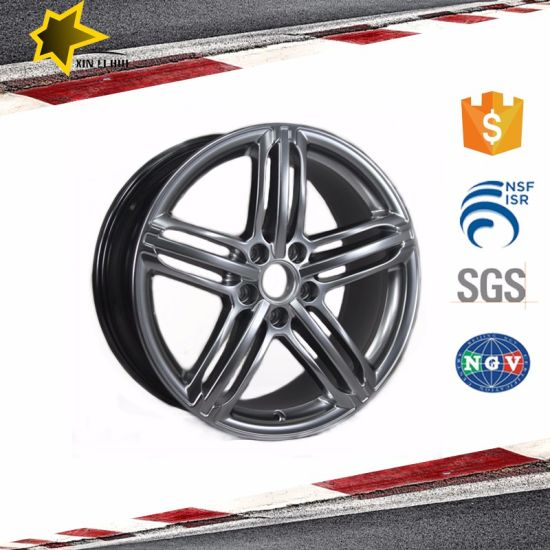 Hyper Silvery Car Alloy Wheels 19 Inch Rims for Audi pictures & photos