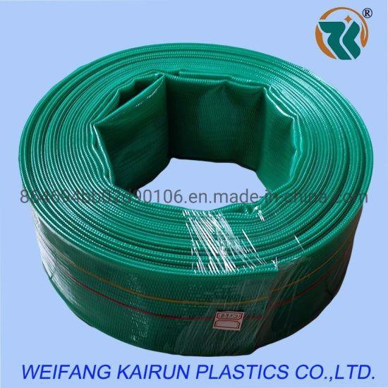 5 Inch High Quality Plastic 8bar PVC Layflat Hose 4bar 6bar PVC Laayflat Hose