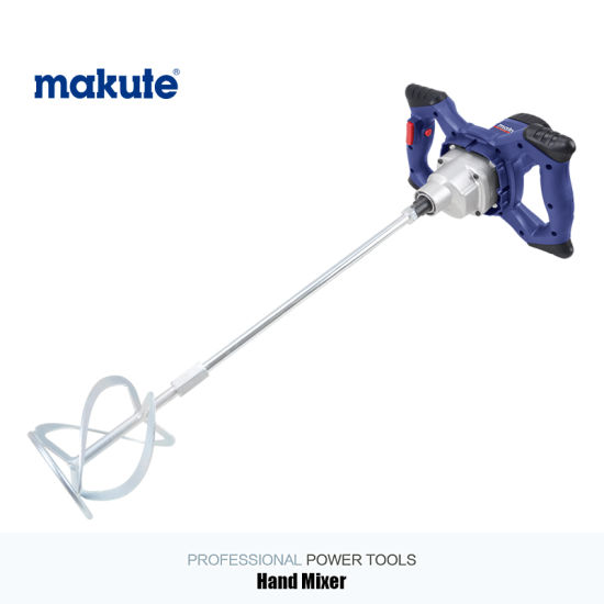Makute Electric Hand Paint Concrete Mixer (HM-120C) pictures & photos