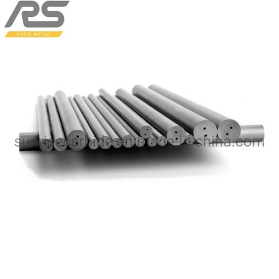 Tungsten Carbide Rod Two Straight Holes for Drill Bits