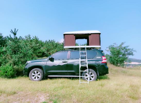 Solar Panels Car Roof Top Tent / Hard Car Roof Top Tent