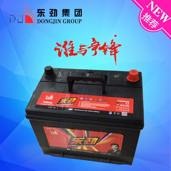 58500 12V48AH More Reliable And High Standard Automotive Car Battery