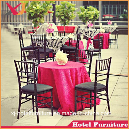 Good Quality Aluminum Banquet Chiavari Chair for Dining Room Furniture/Hotel/Hall/Restaurant