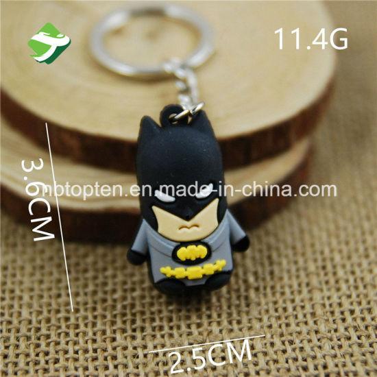 Personalised superhero keyring-batman keyring-pokemon-spiderman-ironman keyring