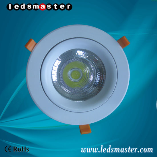Wholesale Commercial Beam Angle 20° 40° 60° PC Recessed LED Downlight