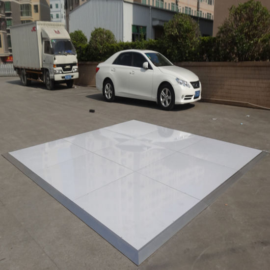 China Wooden Polished Dance Floor with Aluminum Frame for Rental ...