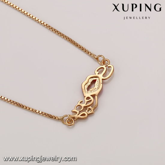 41630 Fashion Women Luxury Gold-Plated Imitation Jewelry Necklace or Chain pictures & photos