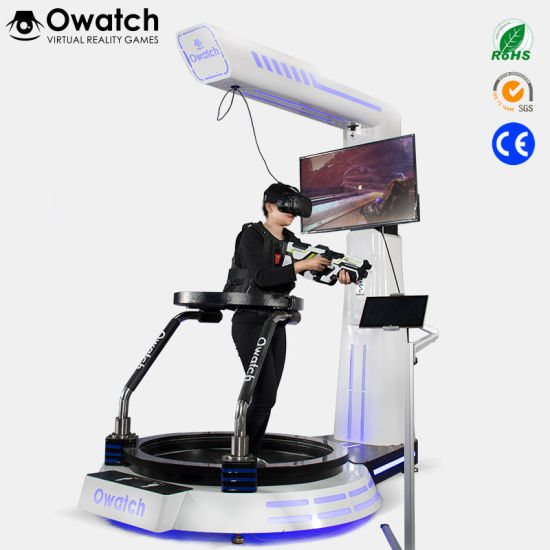 china electric platform virtual reality games vr walker motion