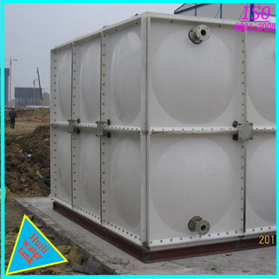 GRP Safety Bolted Water Storage Tanks Plastic