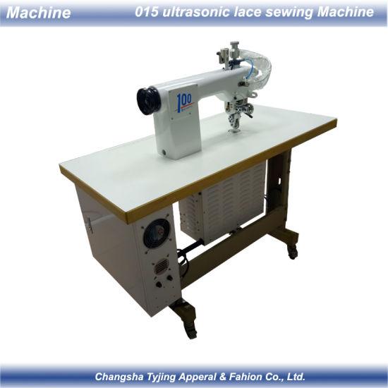 Ultrasonic Seamless Bra Cutting Machine with 2 Rollers Cutting Wheels