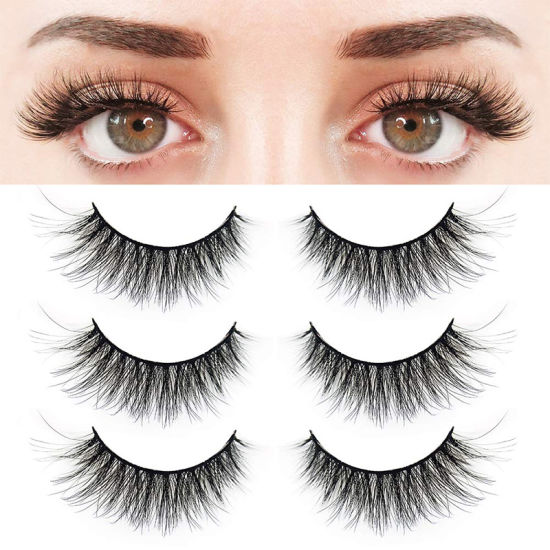 Private Label Wholesale 7D Handicraft Mink Eyelashes with Packaging Free Samples