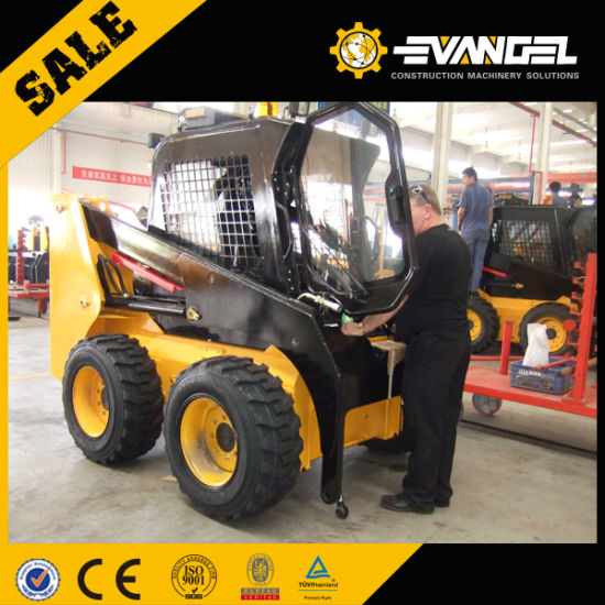 0.15 M3 Hysoon Hy380 Skid Steer Loader Crawler Loader pictures & photos