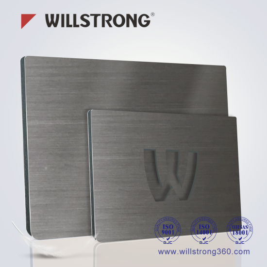 Wood Texture Aluminum Composite Panel for Wall Decoration pictures & photos