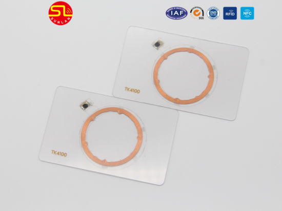 Low Price for RFID 125kHz Tk4100 3*8layout Inlay pictures & photos