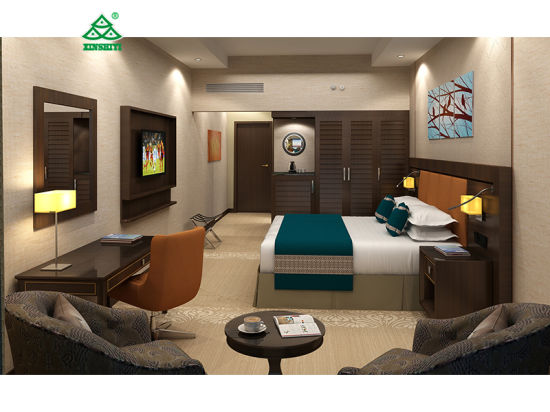 Dubai 7 Star Hotel Standard King Room Furniture Sets