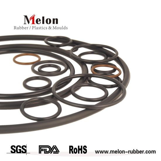 China Custom Rubber Gasket with High Temperature Resistance Flat ...