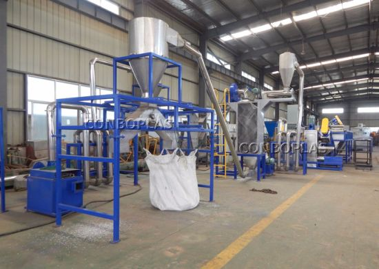 Plastic Water Oil Dirty PE Milk Pet Bottle Drum Washing Recycling Machine pictures & photos