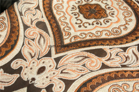 Chenille Arabic Textile Upholstery 330GSM pictures & photos