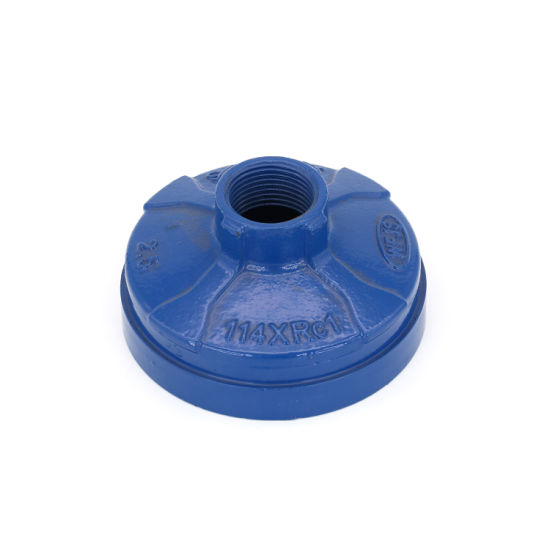 Ductile Iron Pipe Fittings Threaded Concentric Reducer with FM/UL Certificated (Size 3OD*1 1/4'')